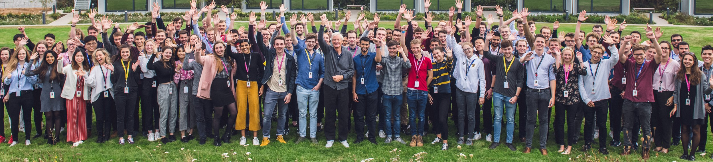 Dyson early careers employees